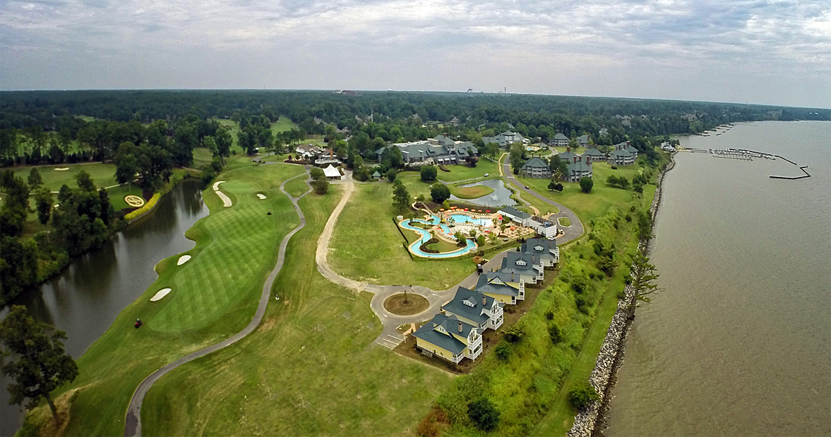 Aerial Shot of Entire Resort