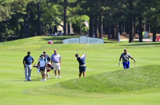 Tee Off with a Golf Tournament Professional