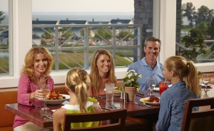 Family dining at Elements 1010