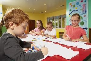 Kids Camp Drawing