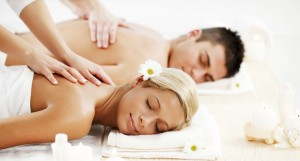 Portrait of romantic couple is having a back massage. They are enjoying on a spa holiday. [url=http://www.istockphoto.com/search/lightbox/9786786][img]http://img641.imageshack.us/img641/2236/couplesrs.jpg[/img][/url]