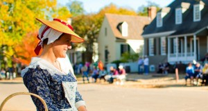 Colonial Williamsburg Lady