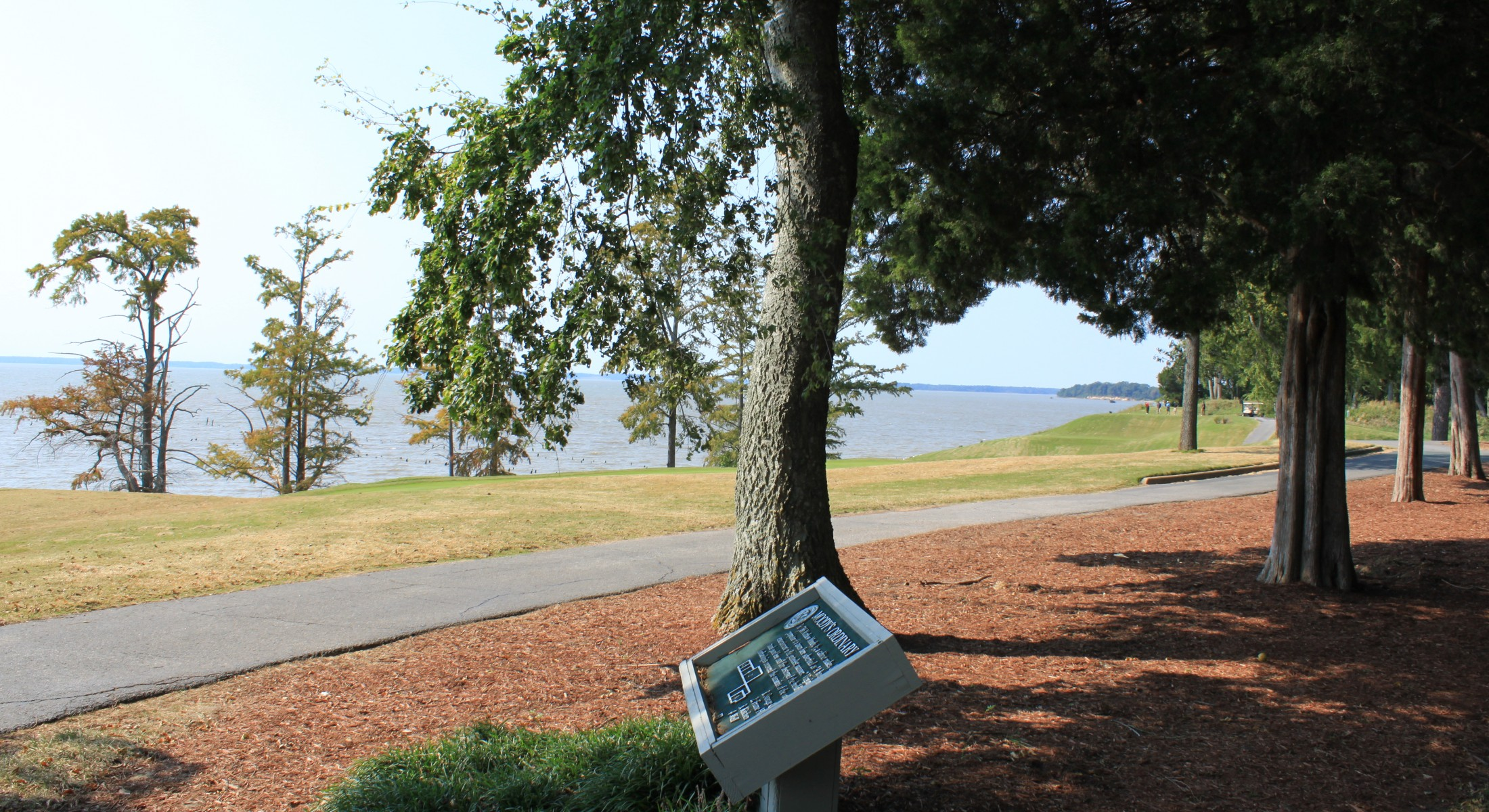 Walking Path Along James River and Hole 17