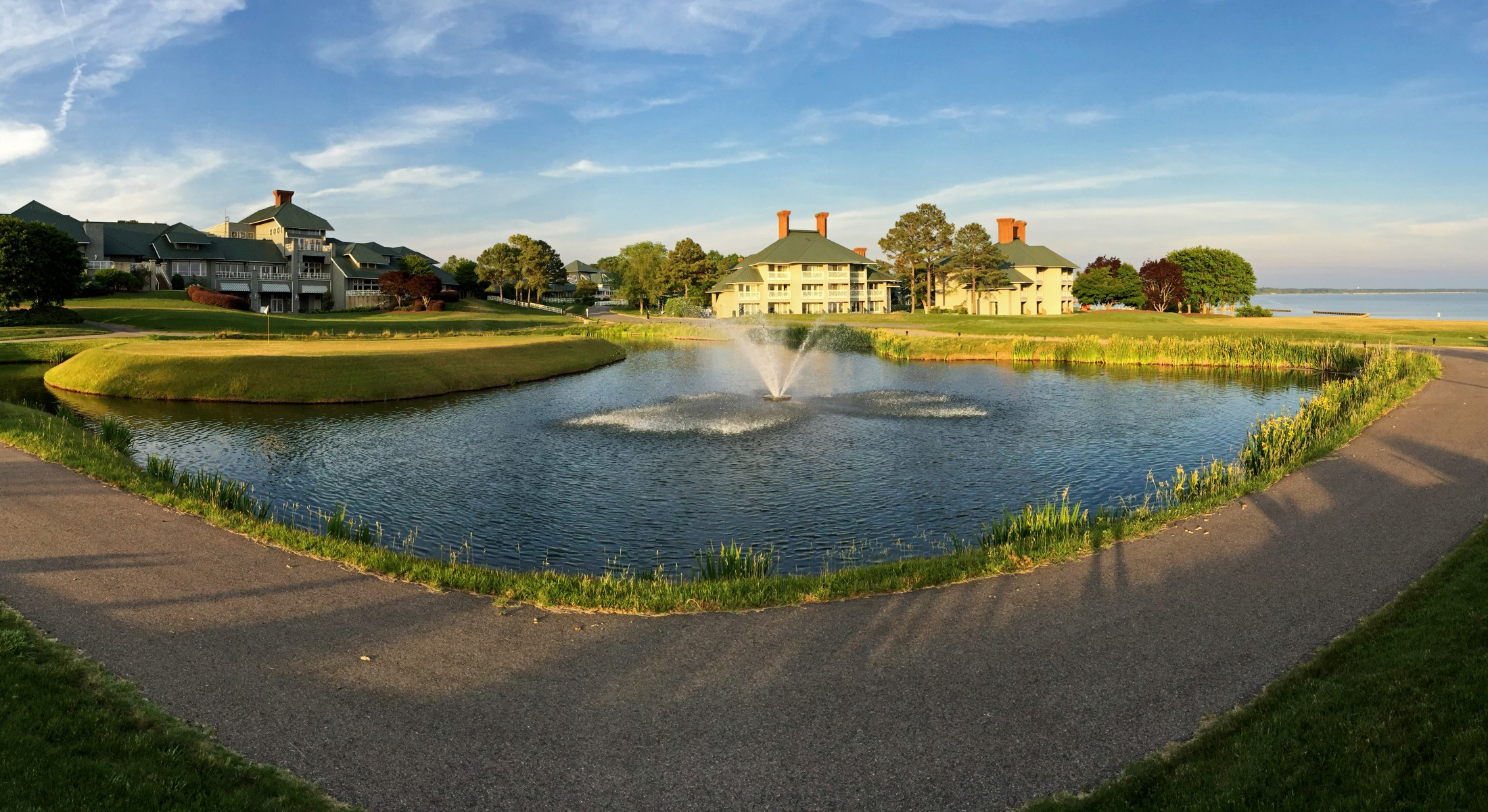 Panoramic View of South Exterior of Kingsmill