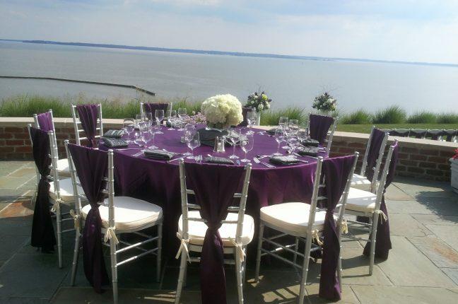 wedding pettus outdoor table