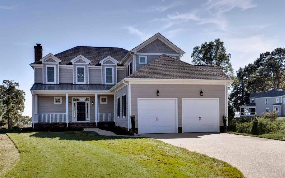 Burwell's Bluff Model Home