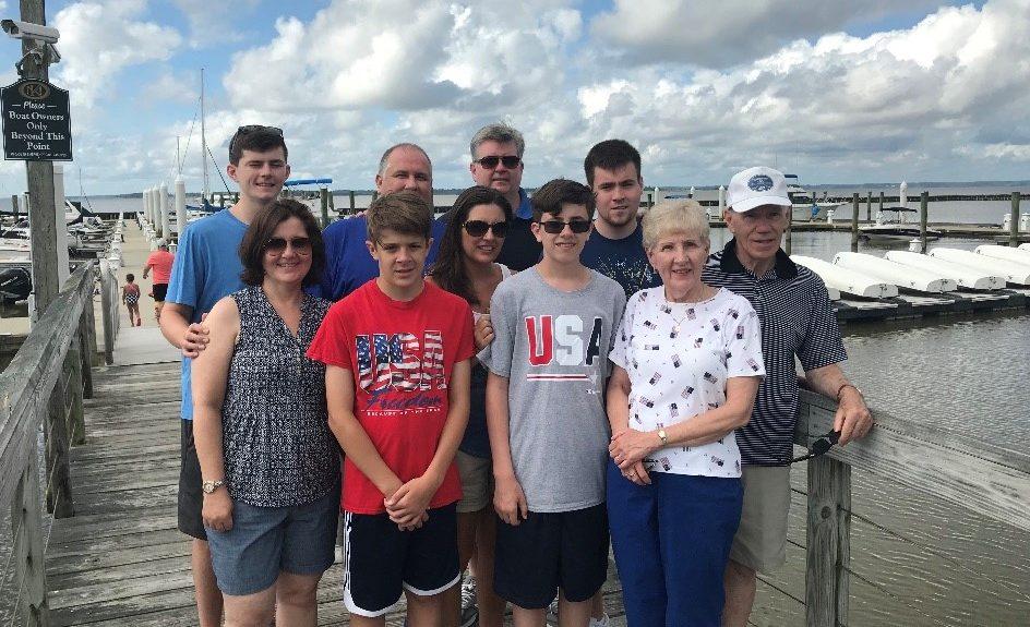 Family Reunion at marina