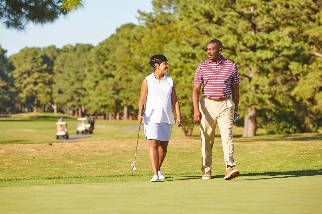 Romantic Weekend Getaway Couples Golf