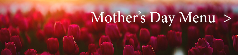 Mother's Day menu banner