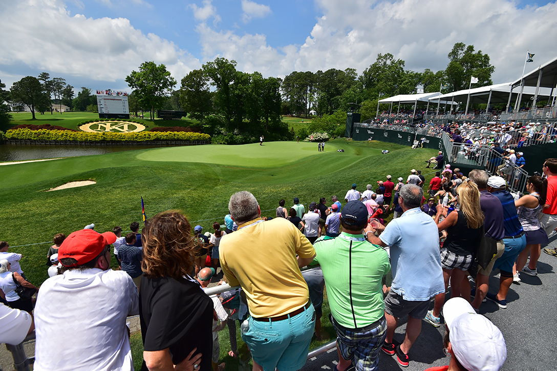 LPGA Championship crowd