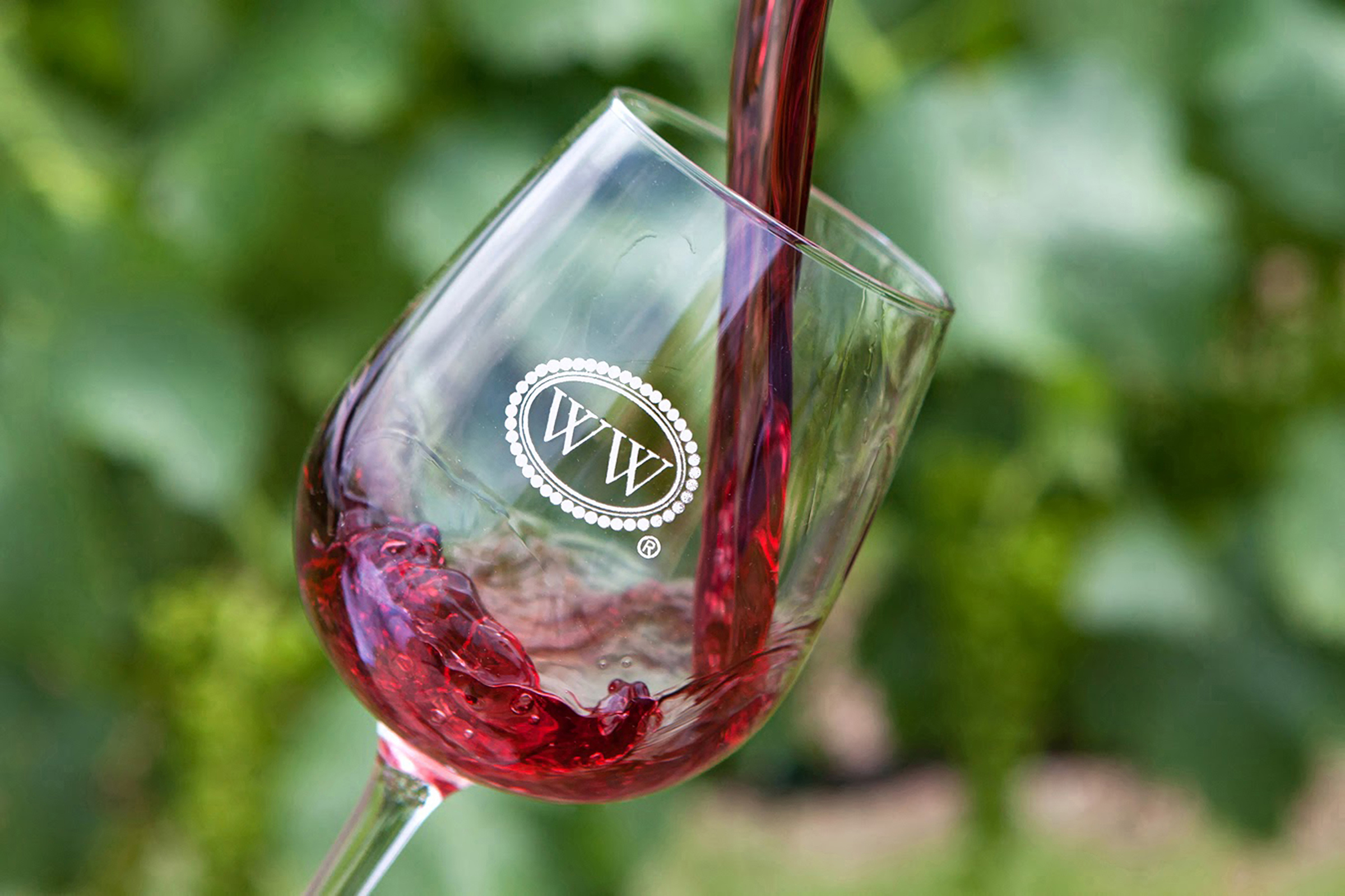 The Williamsburg Winery Wine Glass