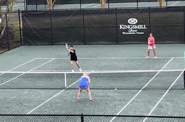 Kingsmill Tennis Association Playing Doubles