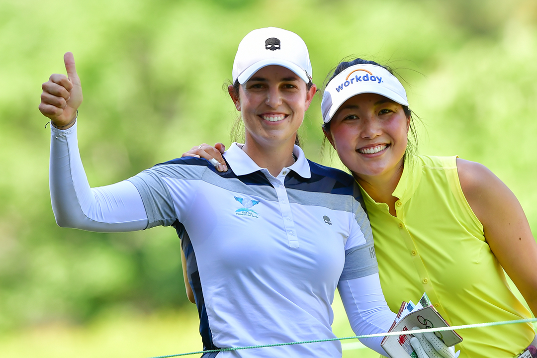 LPGA golfers