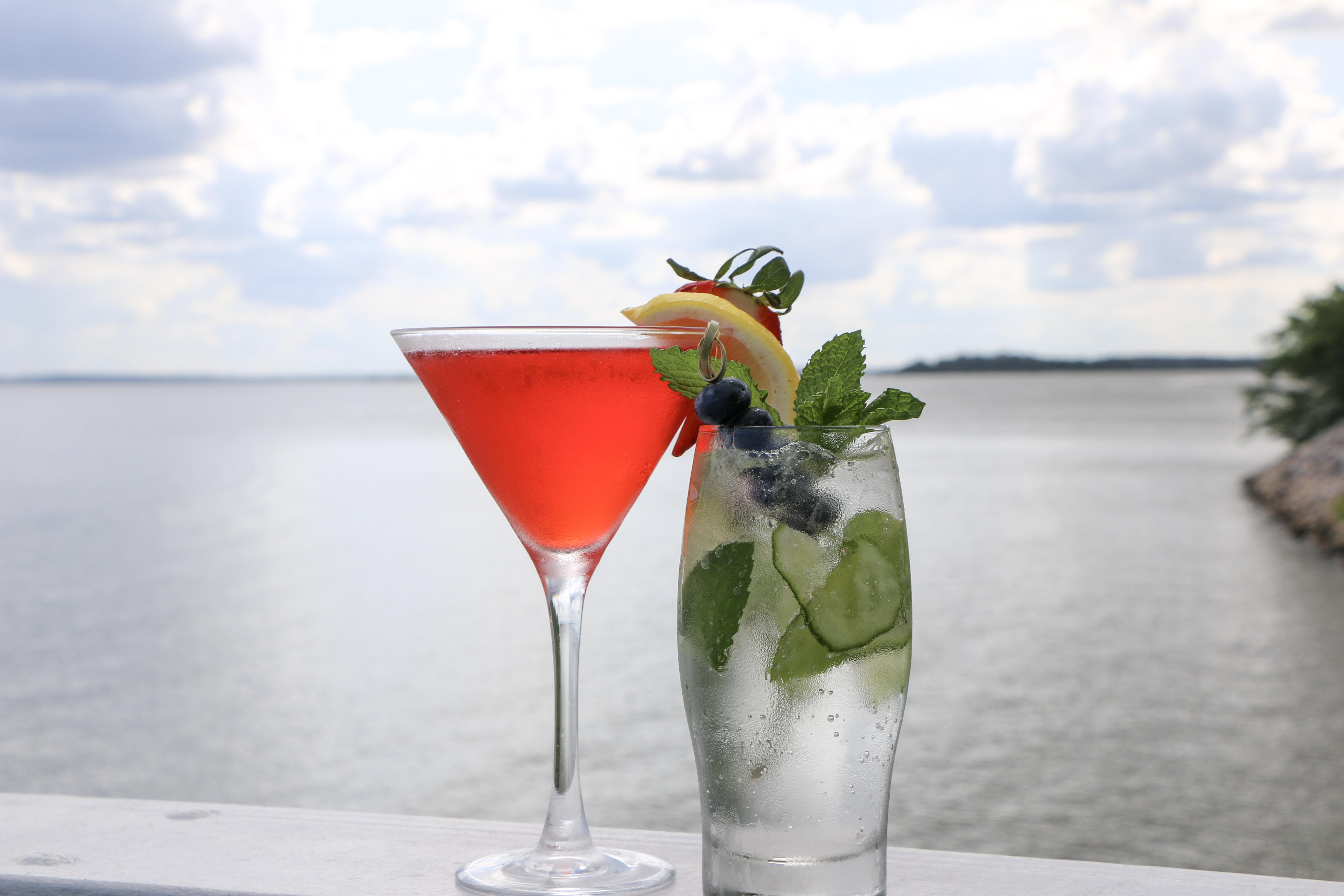 Weekend JLG cocktails