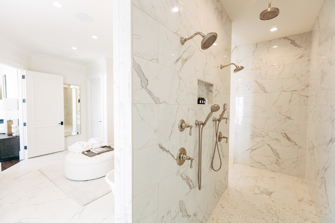 Master Suite 1 shower